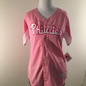 Girls Pink Phillies Shirt